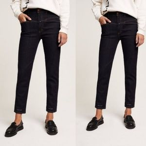 NWT CLOSED Heritage high waist jeans pedal pusher